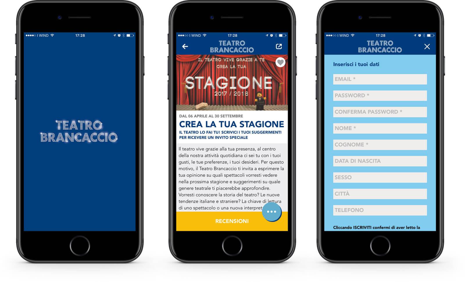 App Teatro Brancaccio – Mango Mobile Solutions