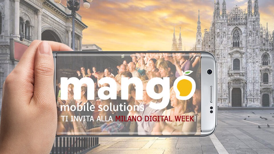 Evento Mango / Milano Digital Week