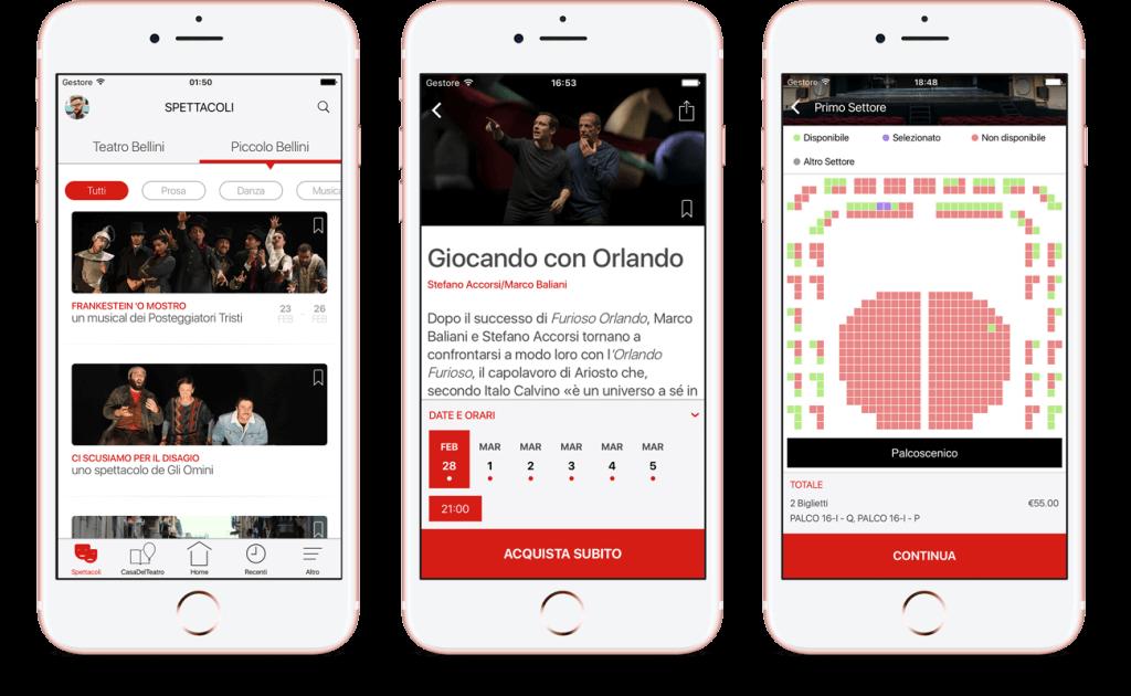 Showtime! case: Teatro Bellini